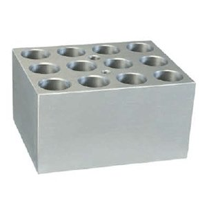 Block, 12 x 5.0ml centrifuge tubes (17mm diameter)