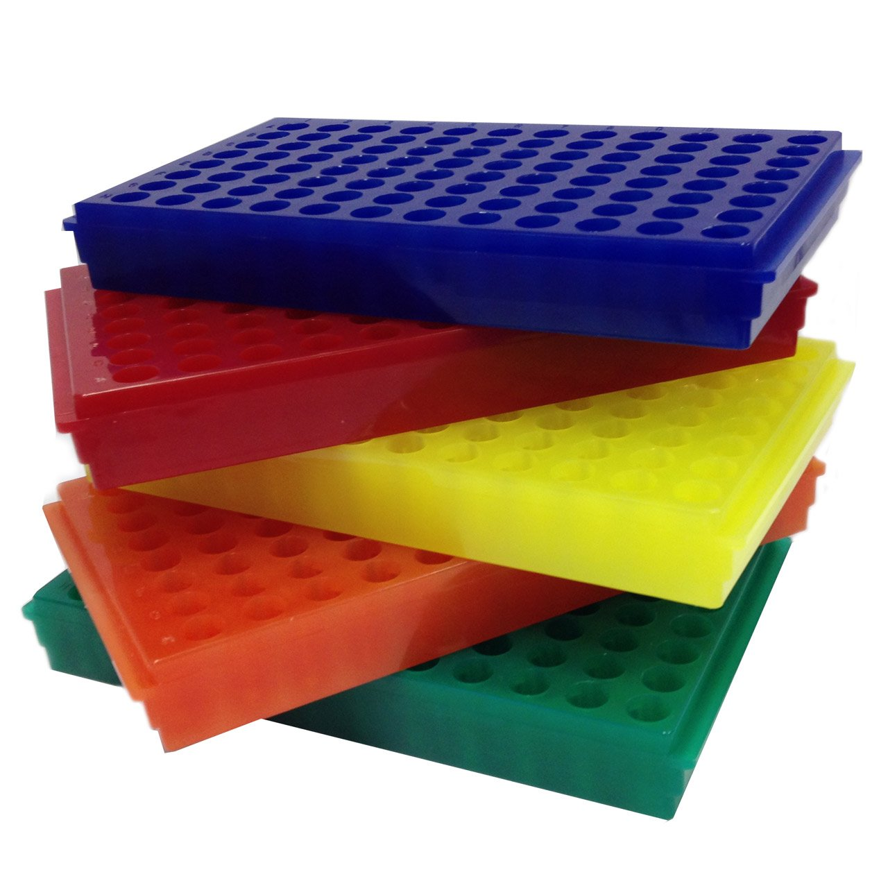 Flipper Rack 96-hole Assorted Colours (5/pack)