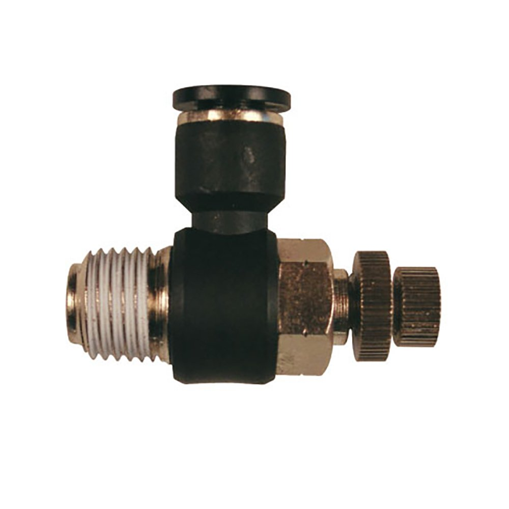 Flow Control Fitting, for Blowgun Swivel Fitting (1)