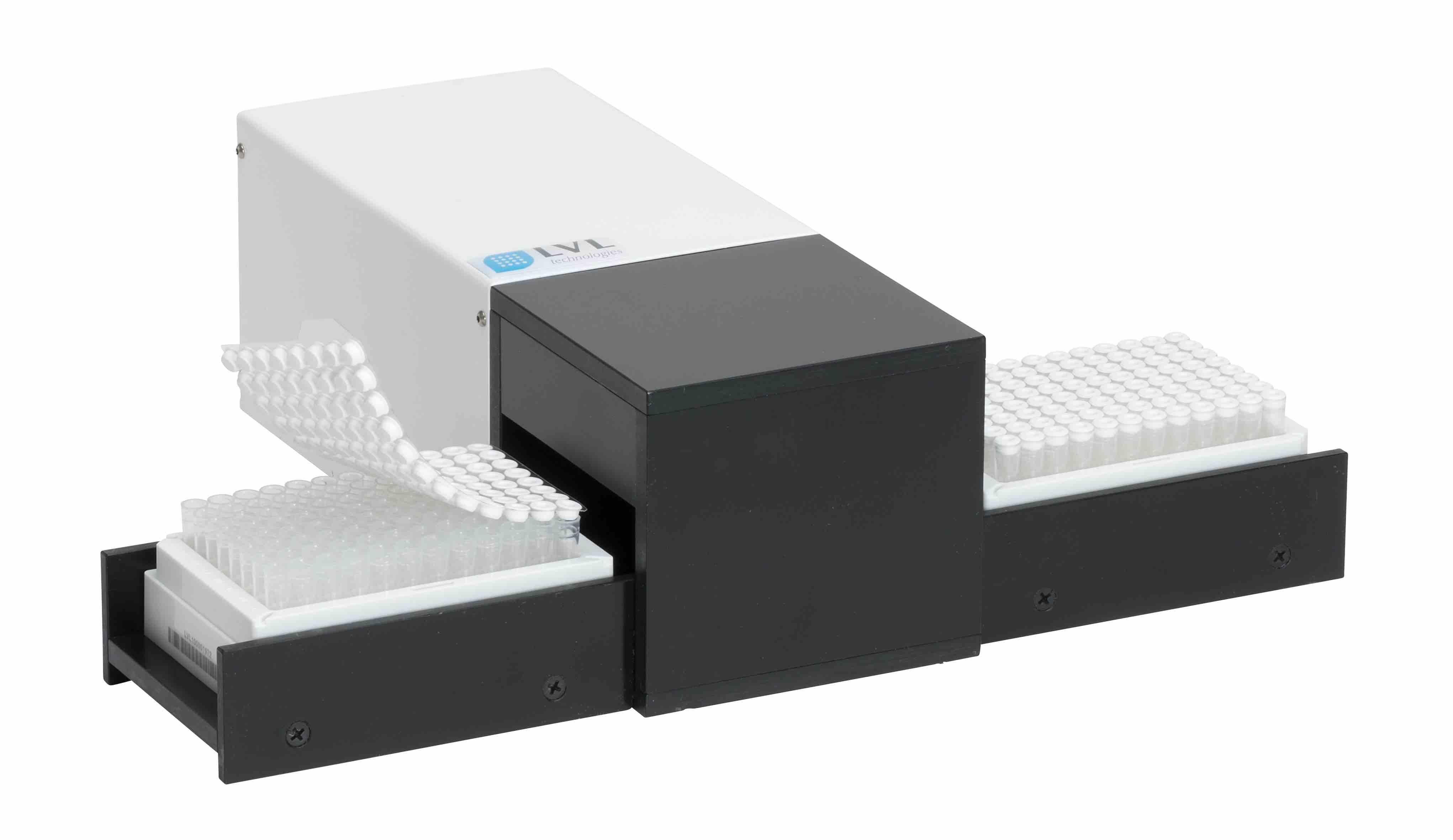SAFE Semi-automated Push Cap Sealer Track for Int thread, 1000ul