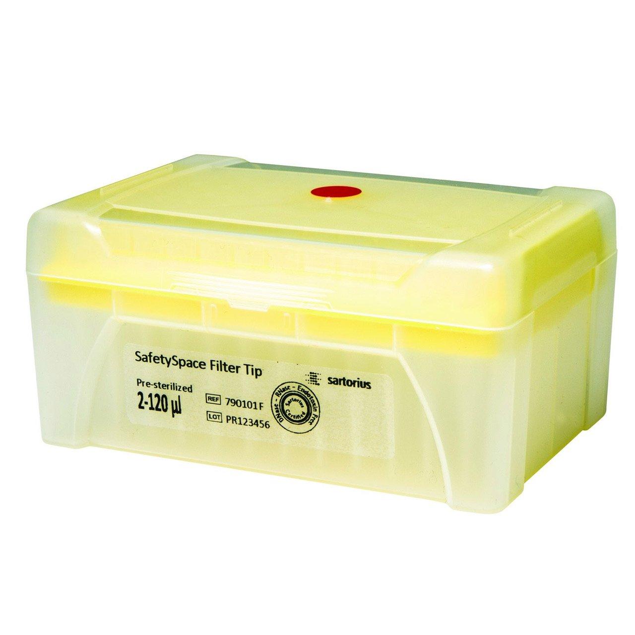 SafetySpace Filter Tip, 2-120 µl, Sterile (10x96)