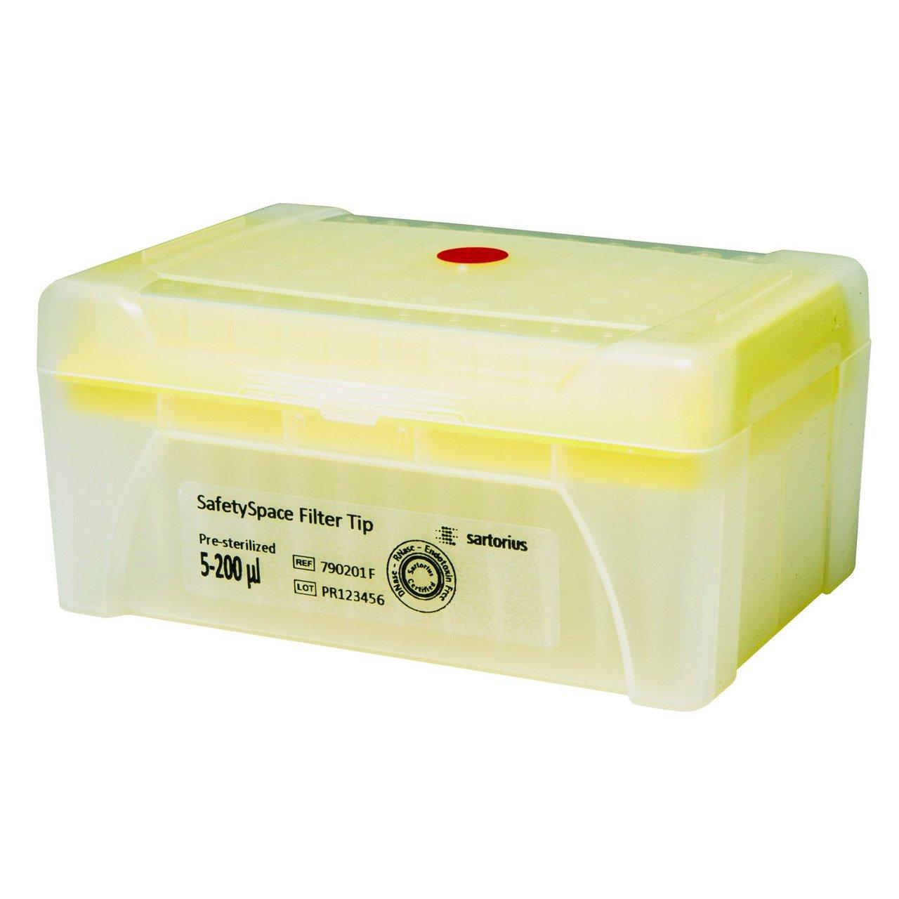SafetySpace Filter Tip, 5-200 µl (10x96)