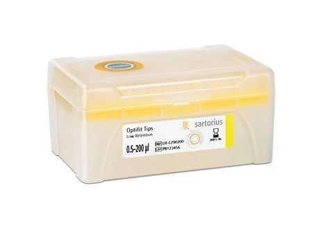 Low Retention Optifit Tip, 0.5-200ul, Racked, Non-Sterile (10x96)