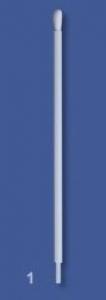 P1 Swab - Standard size bud, cotton head, plastic handle, packaged in singles (1