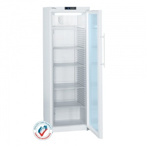 Vaccine & Pharmacy Fridge 386 Litre w/ Elec. Controller & Glass door