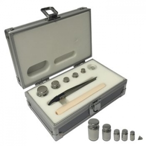 Accuris Class E2, Calibration set for Analytical Balances (1x100mg, 1x10g, 2x20g