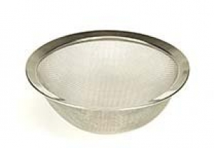 Plaster Sieve (Stainless steel gauze and rim) ea