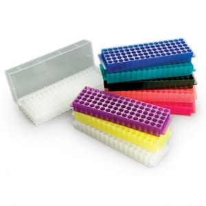 Flipper Rack 80-hole 1.5/2ml tubes (5) Assorted Colours