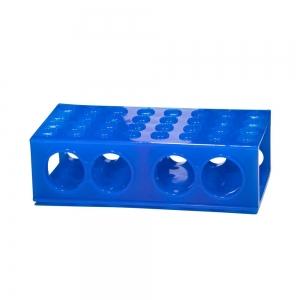 4-Way Flipper Racks, Blue (5/pack)