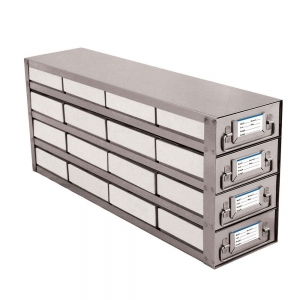 Drawer Style Rack, 16-Place