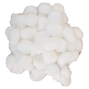 Cotton ball large, fits narrow vial (2000)