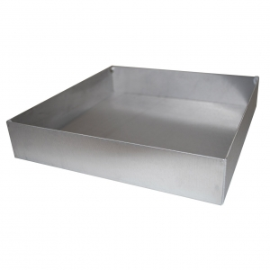Autoclavable Tray for Drosophila Vials - Wide Stainless Steel (1)