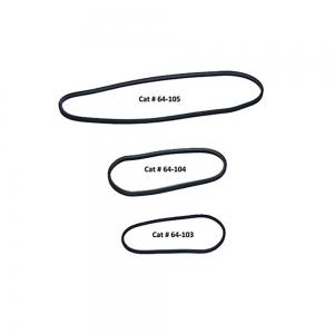 2 Indestructible Rubber Bands 50.8 x 3.2cm (1200)