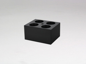 Block for 4 x 50ml Falcon tubes (tapered point)