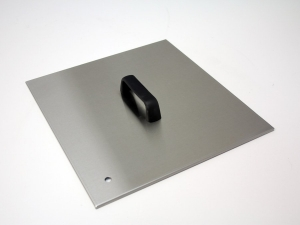 Flat stainless lid, suit IT2400 with bridge