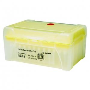 SafetySpace Filter Tip, 0.5-20 µl, Sterile (10x96)