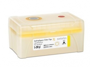 SafetySpace Filter Tip Low Retention, 5-200 µl, Racked, Sterile (10 x 96)
