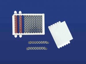 PlateSeal Film, Clear Polypropylene, 1X8 SealStrips,Sterile