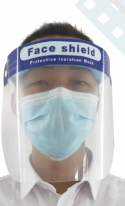 Protective Isolation Face Shield, Polycarbonate (EA)